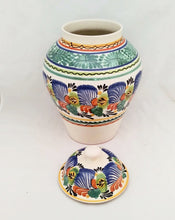 "Decorative Vase 16.5"" H Traditional Multi-colors"