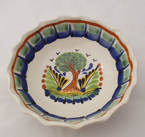 Tree Cereal Bowl Capacity: 16.9 oz Blue-Green