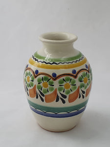 "Flower Mini Vase Tibor 4"" Height MultiColors"