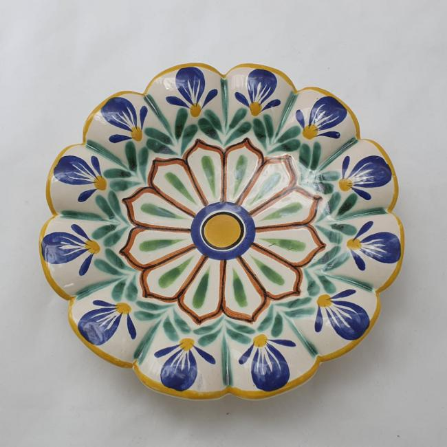 Flower Footed Snack Dish 7