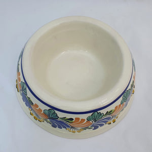 "Large Dog Bowl 11.2 X 3.9"" Multicolors"