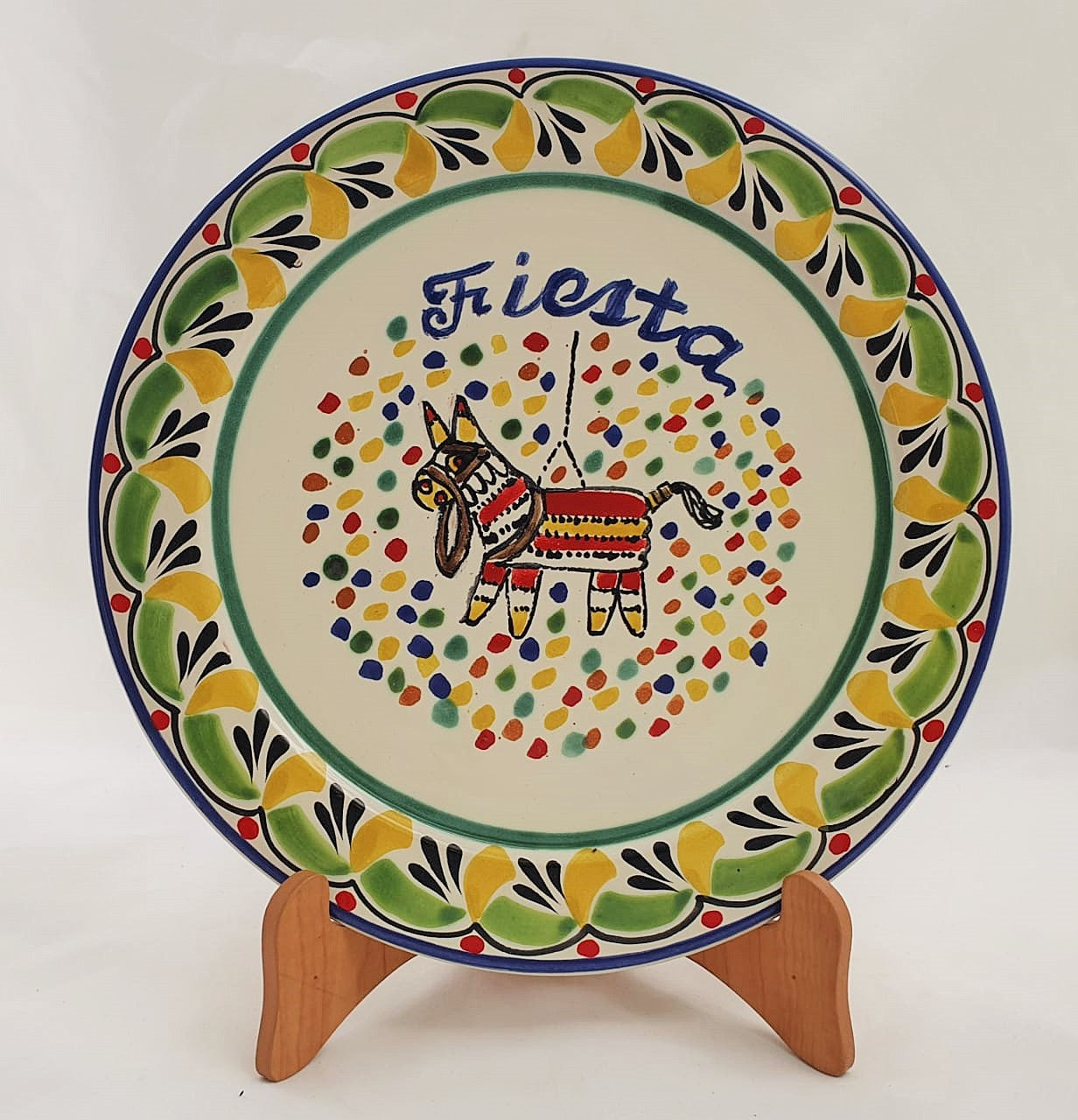 Party Salad Plate 8.7