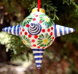Ornament Piñata Blue-Red-Green Colors