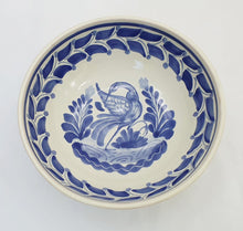 Heron Cereal/Soup Bowl 16.9 Oz  Blue and White