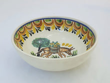 Donkey Cereal/Soup Bowl 16.9 Oz Multicolor