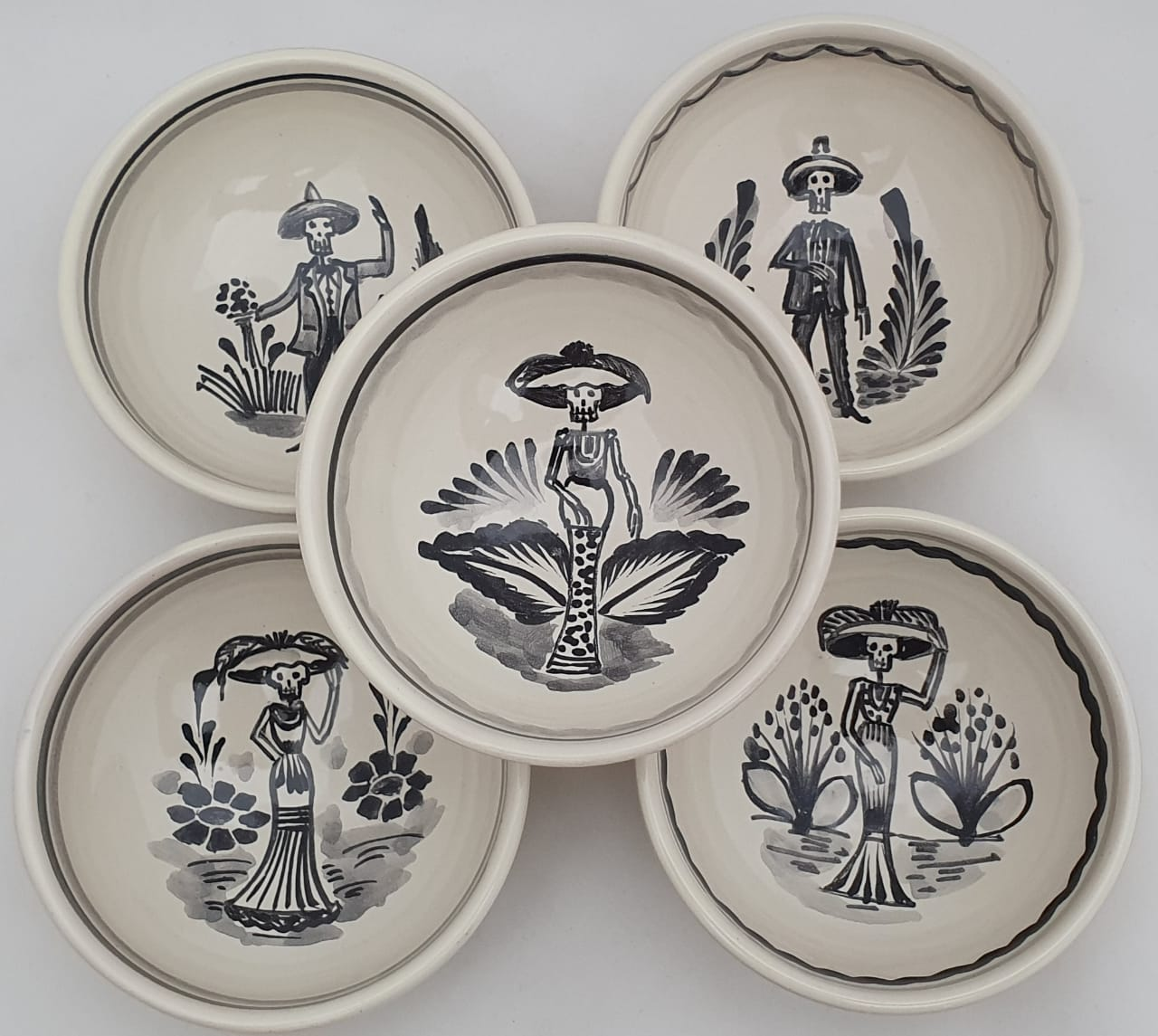 Catrina Small Bowl Set of 5 pieces 4.9