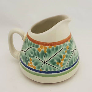 Creamer Pitcher 13.5 Oz Green-Yellow-Blue Colors