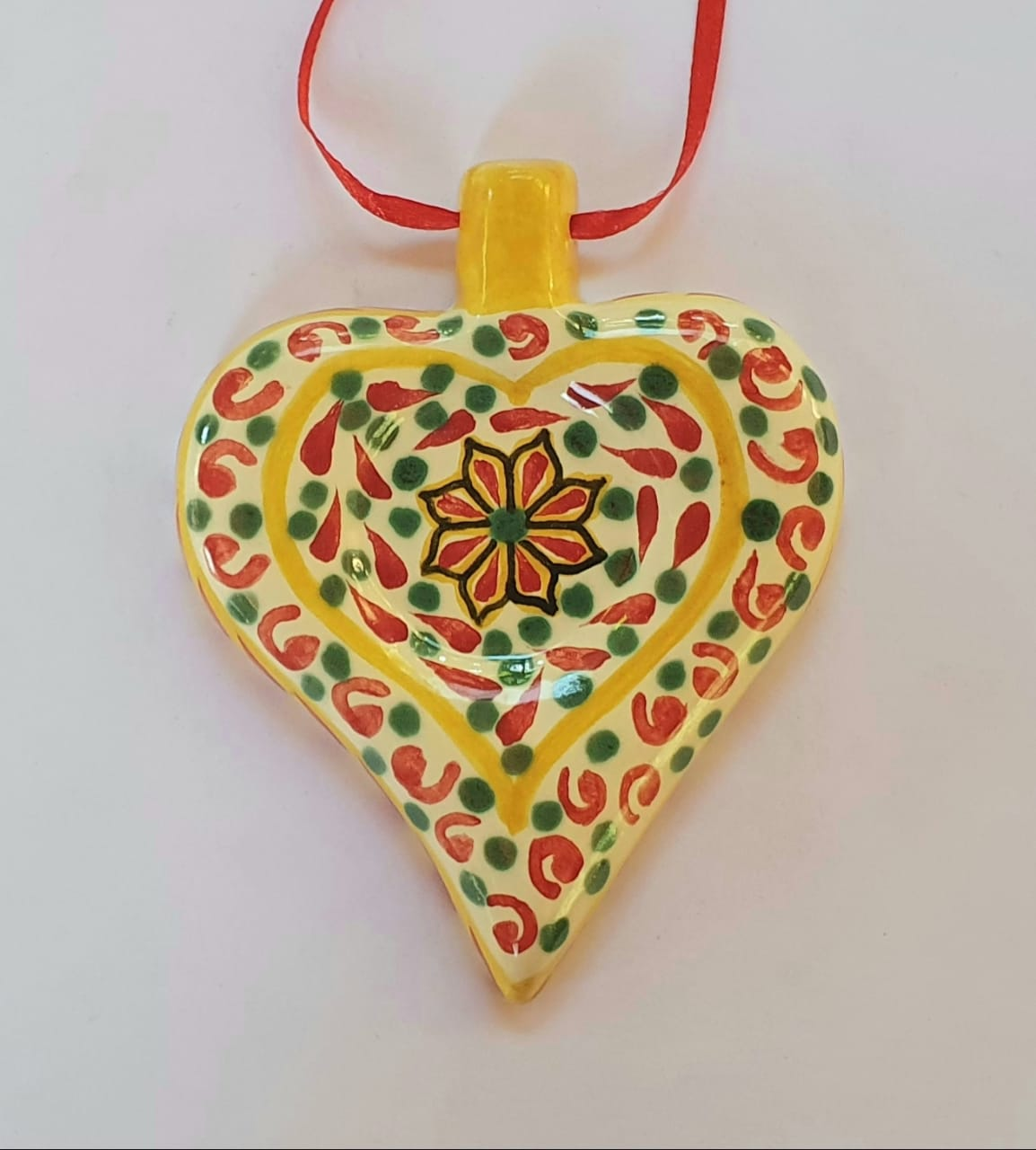 Ornament Heart Multi-colors