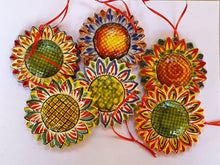 Ornament SunFlower Set of 6 pieces