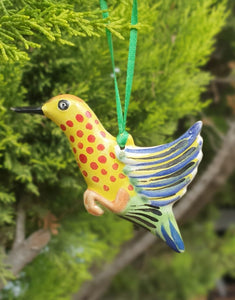Ornament Hummingbird Multi-colors