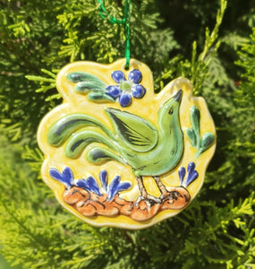 Ornament Bird Multi-colors