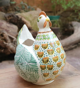 Chicken Decorative Vase Multi-colors