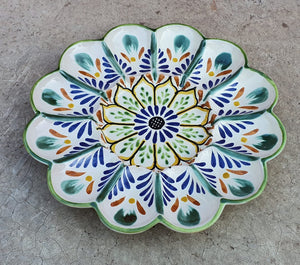 "Deviled Eggs / Snack Plate 10"" D MultiColors"