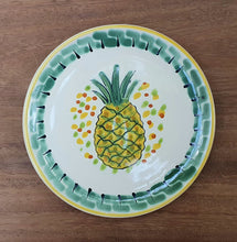 Pineapple Bread Plates / Tapa Plates Multi-colors