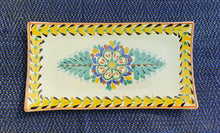 Flower Rectangular Trays Multi-colors