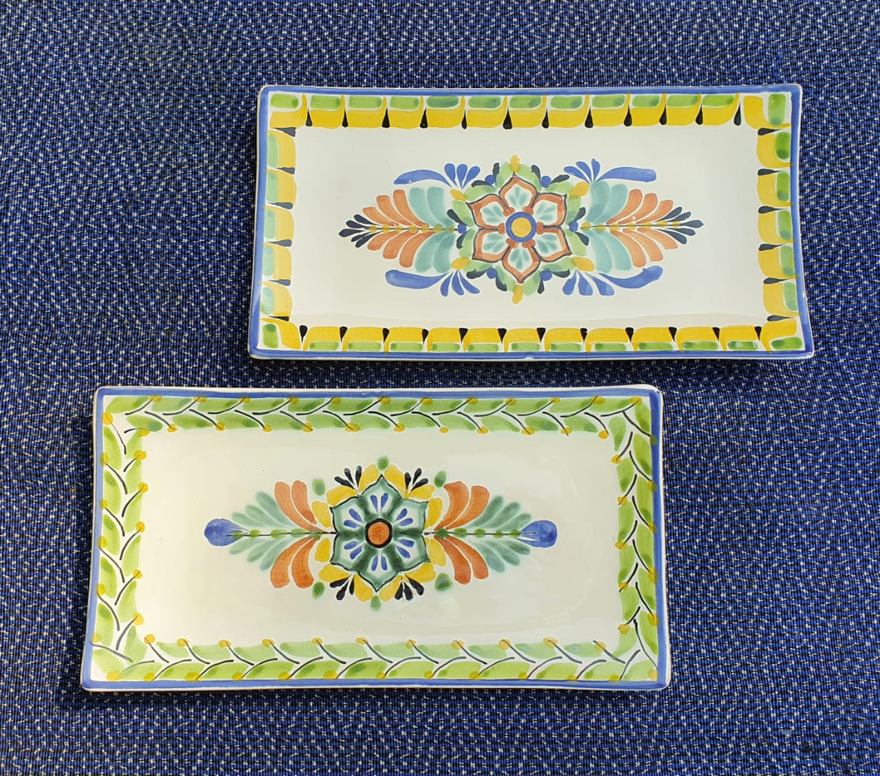 Flower Tray Small Rectangular Plate 11*5.7