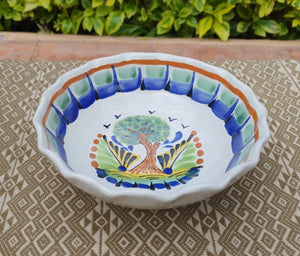 Tree Cereal/Soup Bowl 16.9 Oz Multicolor