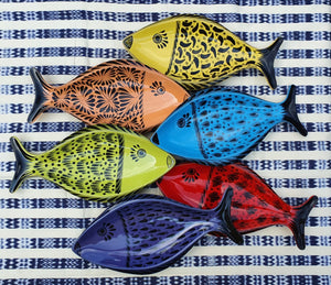 "Fish Plate 10.6*5.3"" SET (6 pieces) Contemporary"