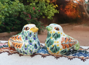 Dove Salt and Pepper Shaker Set MultiColors