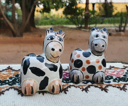 Cow Salt and Pepper Shaker Set MultiColors
