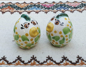 Egg Salt and Pepper Shaket Set MultiColors