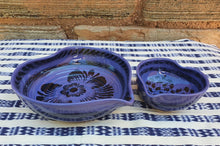 Heart Bowl Set (2 pieces) Purple Contemporary