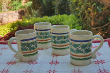 Espresso Mug 3.7 Oz Set of 4 Multicolors