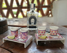 Tequila Set (2 sets) Purple Color