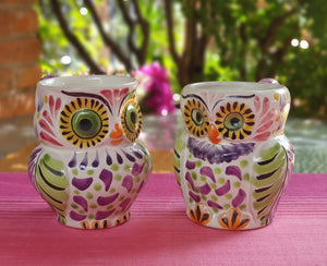 Owl Coffee Mug Perfect couple! 10.5 Oz Purple