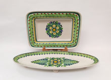 Rectangular and Oval Snack Plates Set(2)