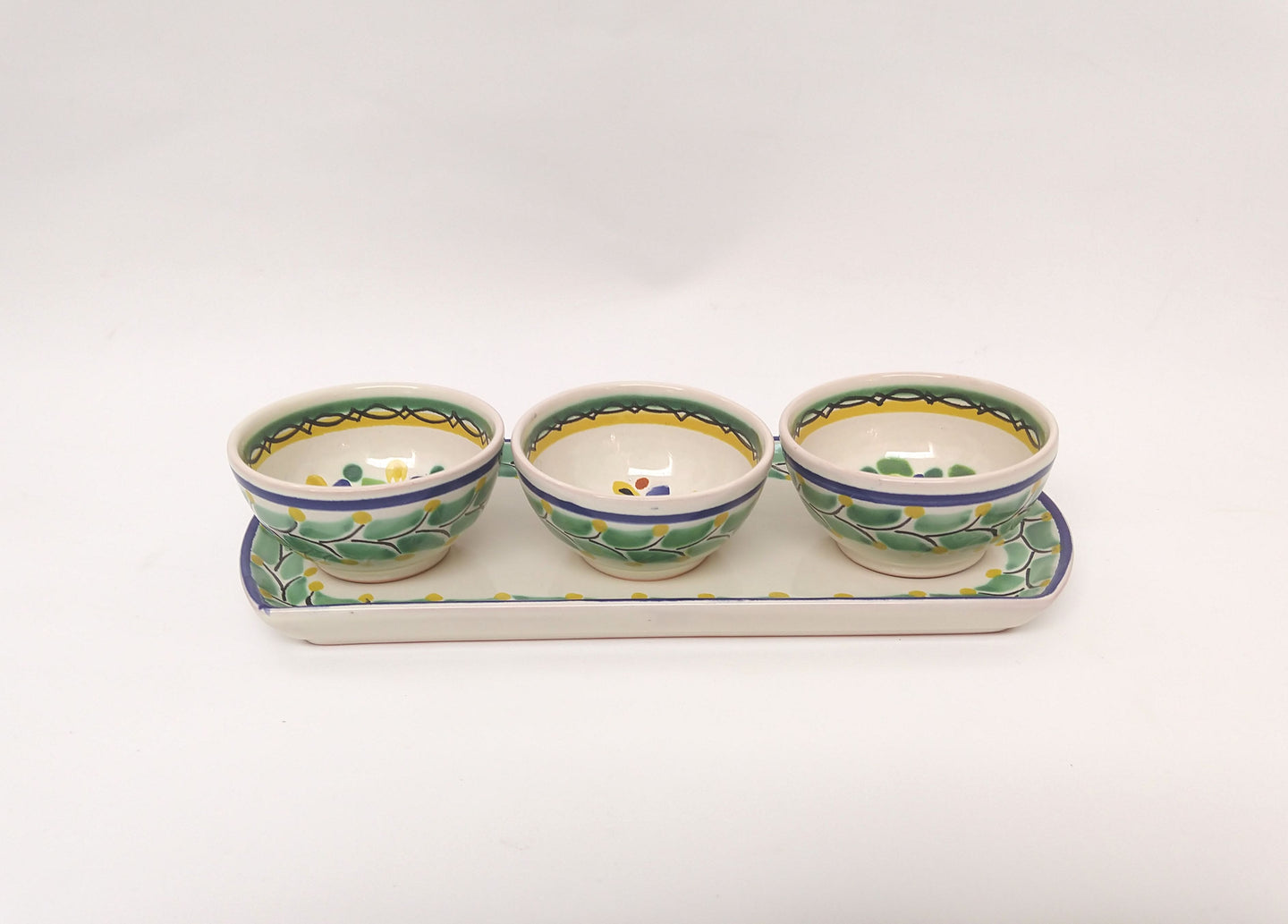 Flower Saucer Set (4 pieces) MultiColors