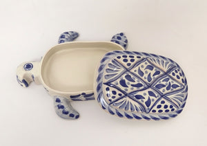 Turtle Set(3) in Blue and White