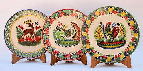 Animal Salad Plate Set of 3 pieces 8.7 in