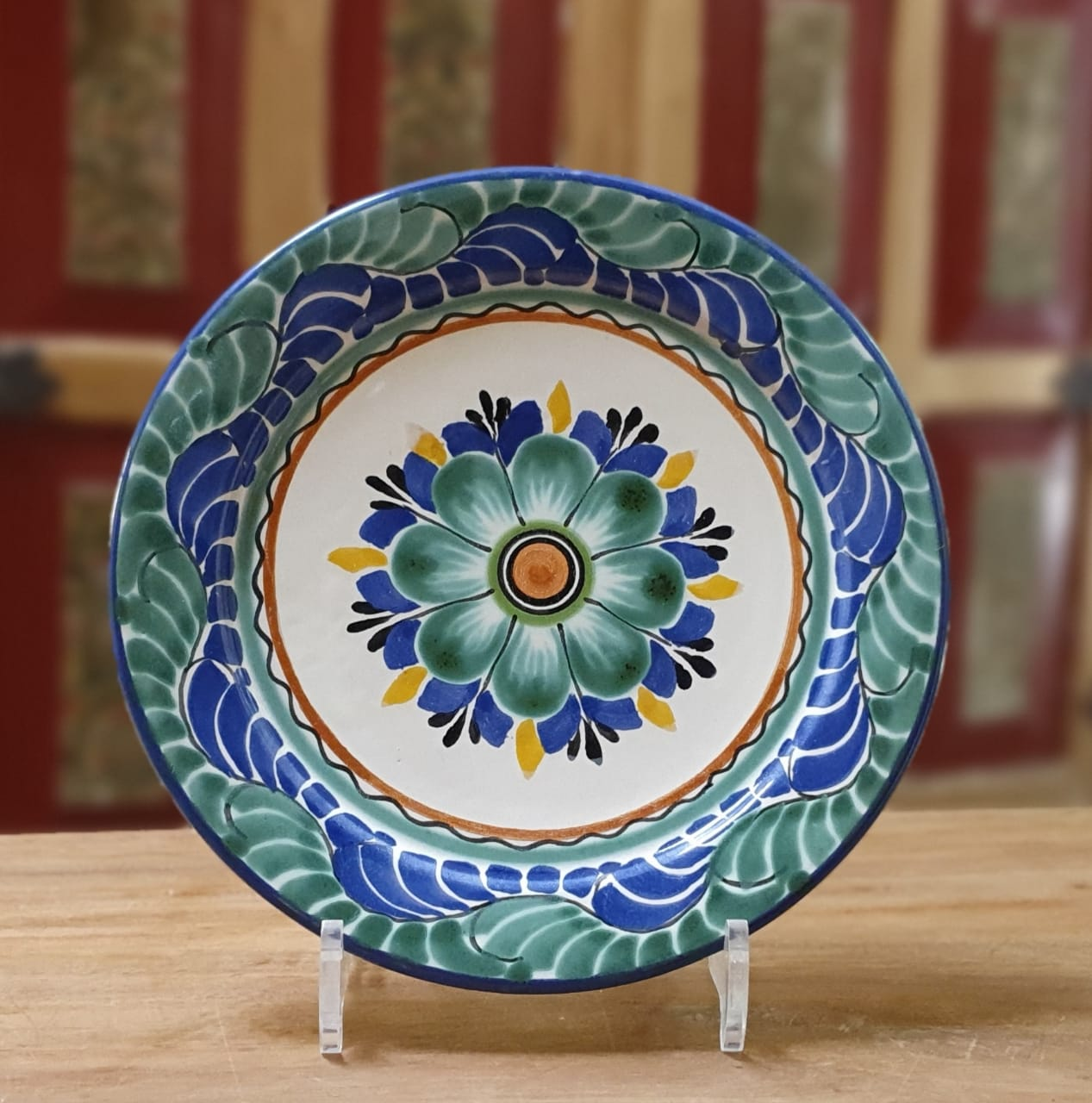 Flower Plates Multi-colors