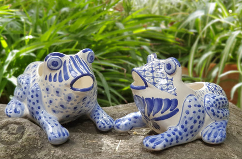 Frog Shape Set of 2 Pieces 6.7