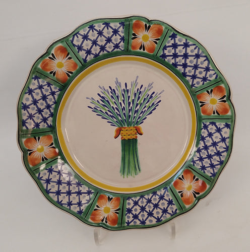 Wheat Flower Shape Plate