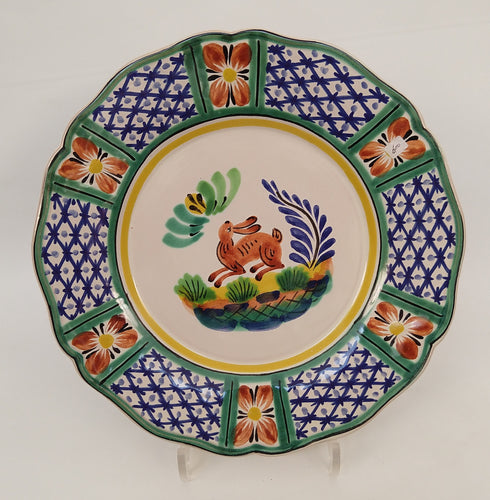 Rabbit Flower Shape Plate
