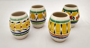 Mezcal Shot Yellow Set of 4