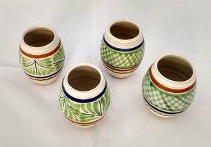 Mezcal Shot Green Set of 4