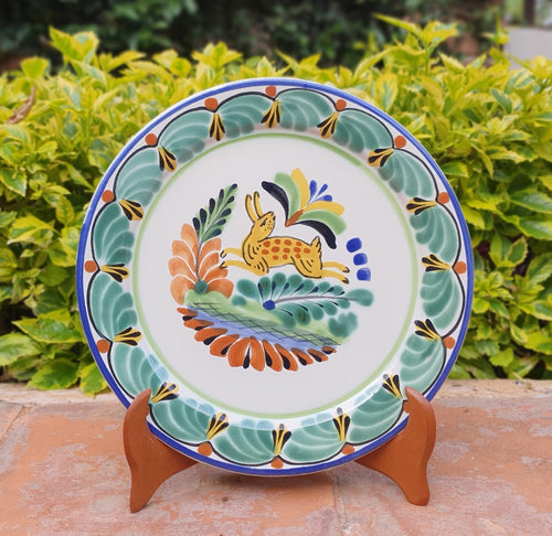 Rabbit Charger Dinner Plate 12