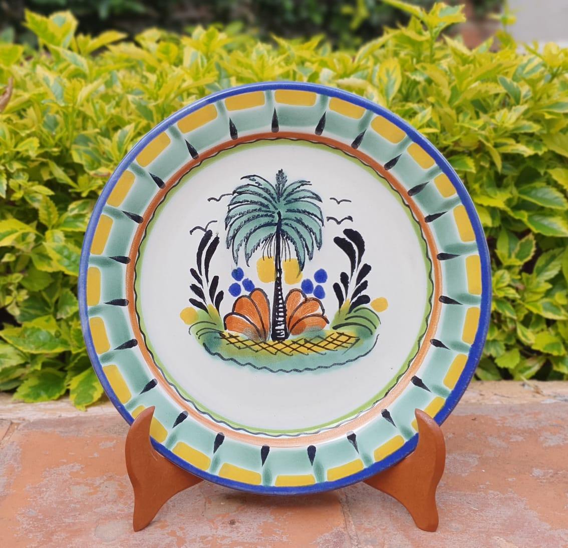 Palm Charger Dinner Plate 12