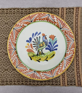 Rooster Plates Multi-colors