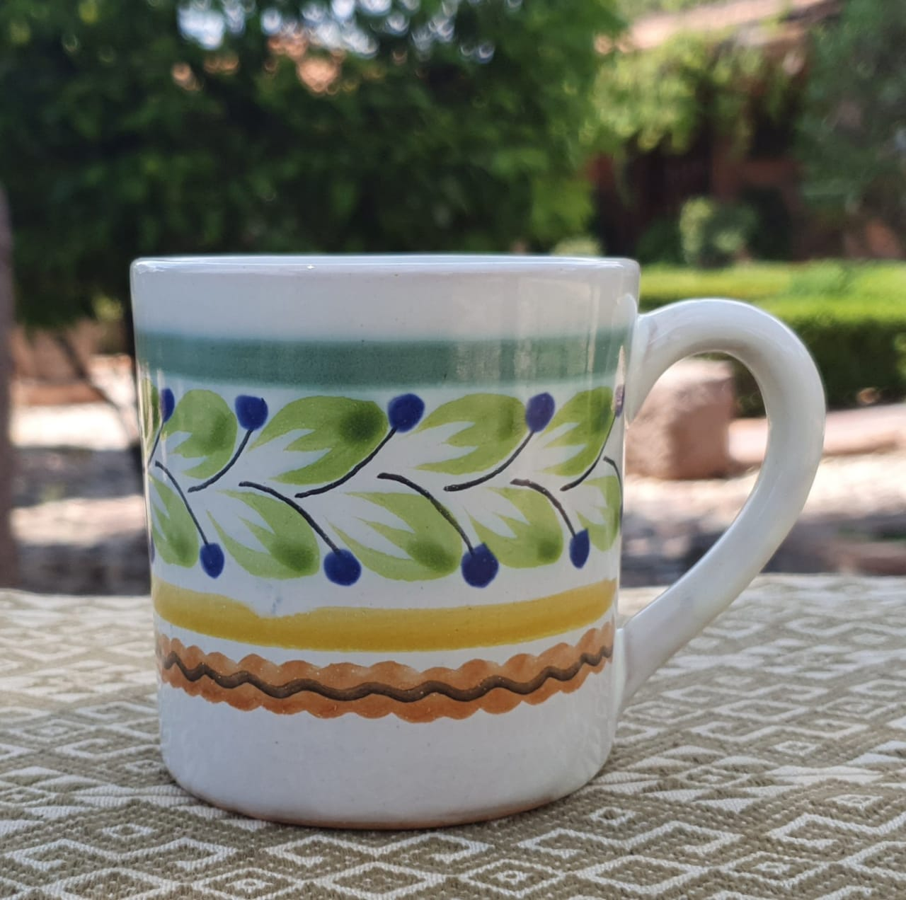 Small Coffee Mug 8 Oz Multicolor