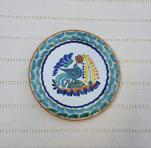 "Bird Dessert Plate 7.5"" Multicolor"