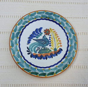 "Bird Dinner Plate 10"" D Multicolor"