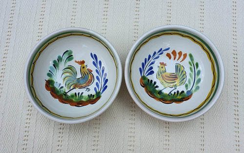 Rooster Small Bowl Set of 2 4.9