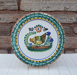 "Chicken Dinner Plate 10"" Multicolor"