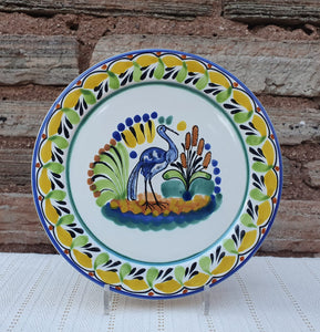 "Heron Charger Dinner Plate 12"" D Multicolor"