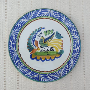 "Bird Charger Dinner Plate 12"" D Multicolor"