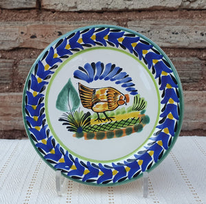 "Chicken Charger Dinner Plate 12"" Multicolor"